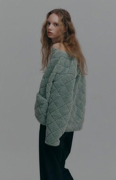 뽀글이 양털 포켓자켓