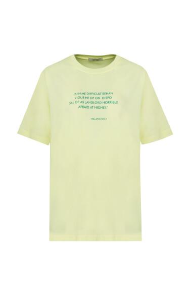 잔영문 티셔츠