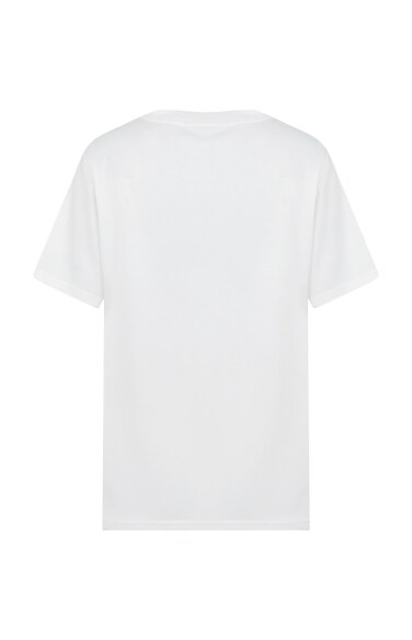레터링 반팔 티셔츠