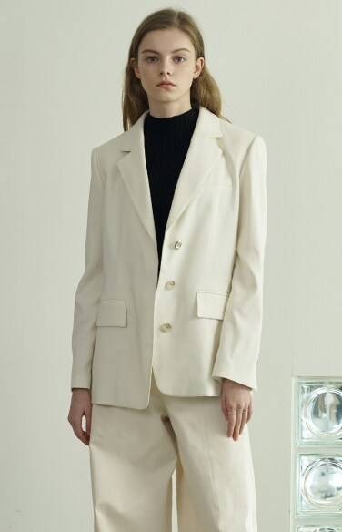 hidden button straight jacket