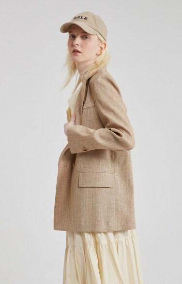 linen pocket straight jacket