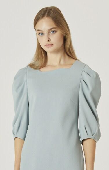 puff sleeve dress(박하나 착용)