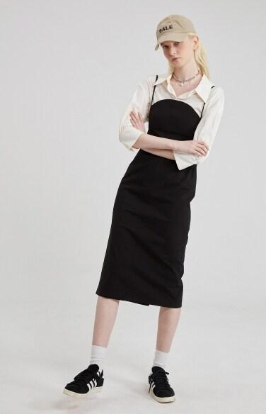 [3차 리오더] round bustier dress(김소은,신예은,박하나 착용)