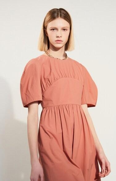 back strap puff dress(임수향 착용)