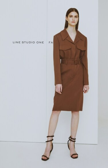 buckle strap skirt