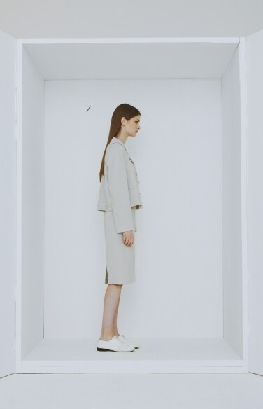 buckle strap skirt(나나 착용)
