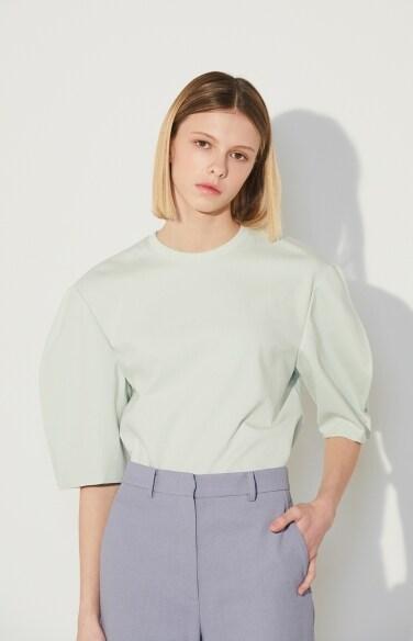 slit sleeve t-shirts(신예은,박하나 착용)