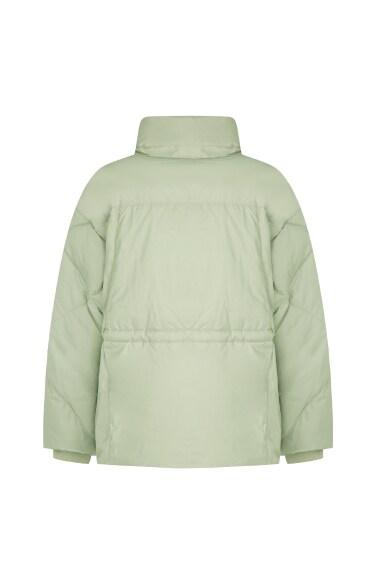 퀼팅 덕다운 재킷