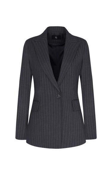피크드 싱글 재킷