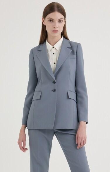 포멀 모던 노치드 재킷