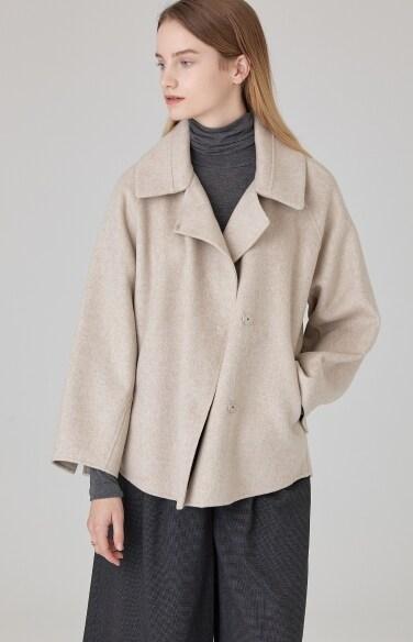 히든 울 재킷