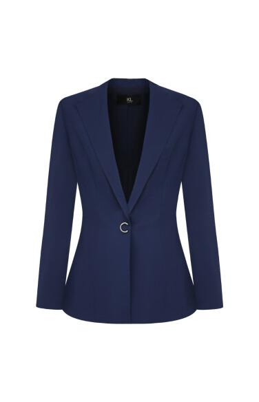 C버튼 테일러드 재킷