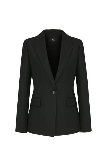 싱글 브레스트 피크드 재킷