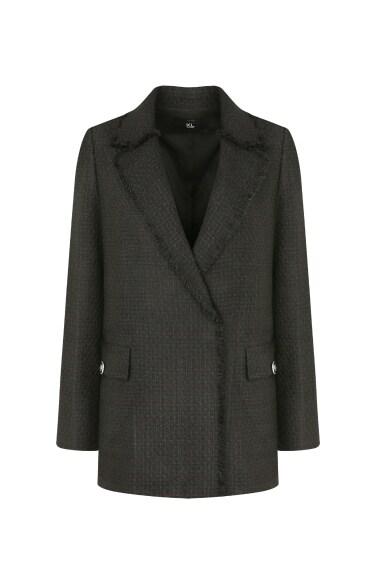 트위드 재킷