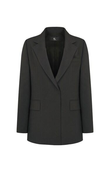 히든버튼 슬리브 재킷