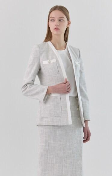클래식 트위드 재킷