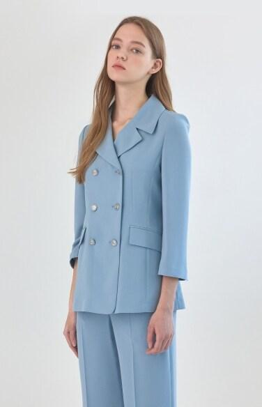 클래식 더블 재킷
