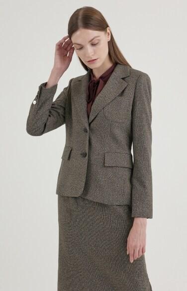 모던 클래식 블렌드 재킷