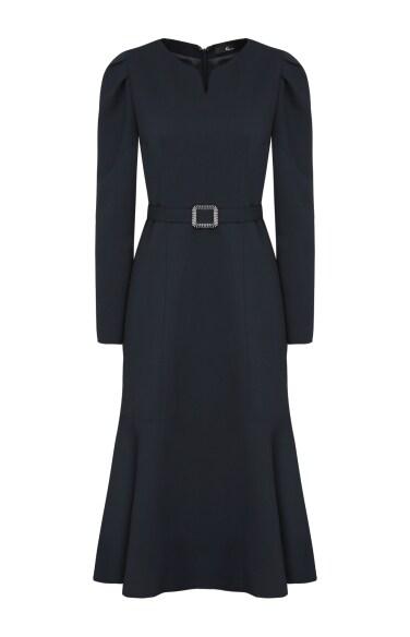 튤립 슬리브 드레스