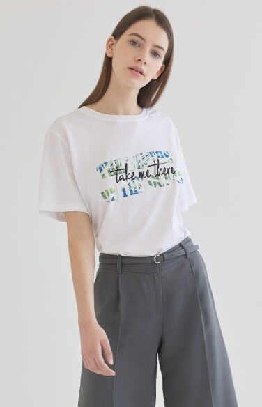 포레스트 패턴 티셔츠
