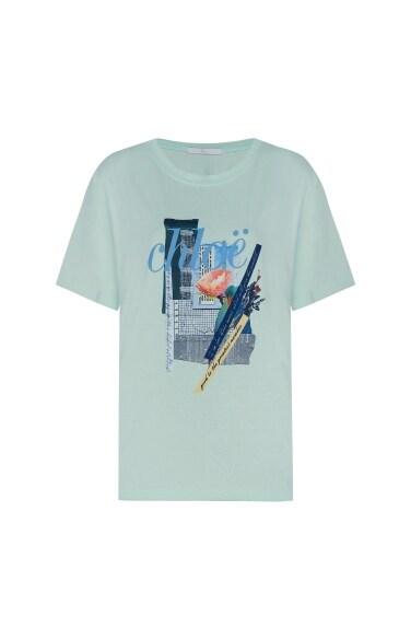 베이직 레터링 티셔츠