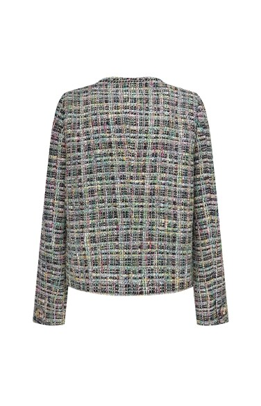 컬러팝 트위드 자켓