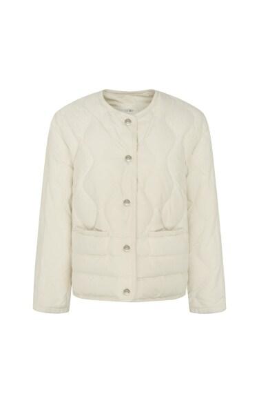 노카라 퀼팅 덕다운 자켓