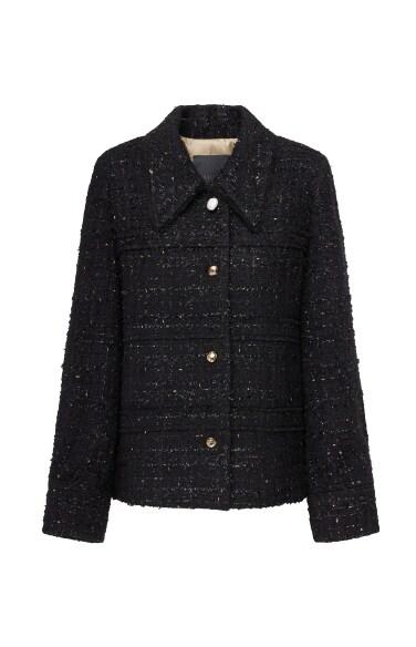 이튼 라펠 트위드 재킷