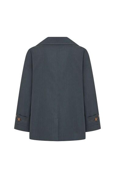 원 버튼 테일러링 재킷