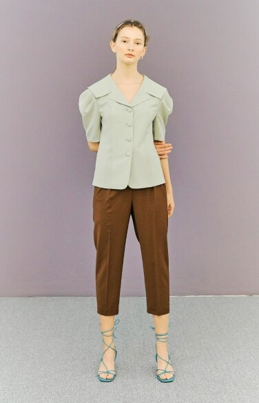 sailor collar blouse
