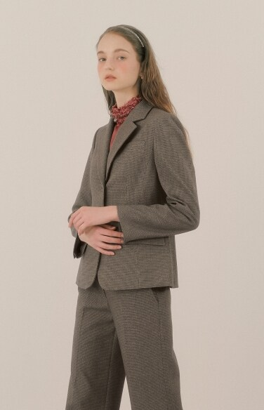 basic two button jacket