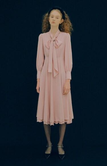 layered flare dress(임수향착용)