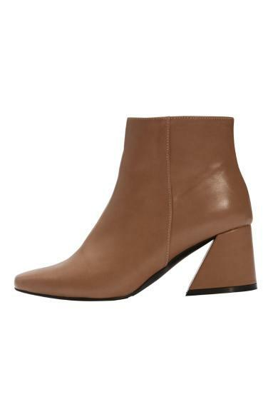 square heel ankle boots