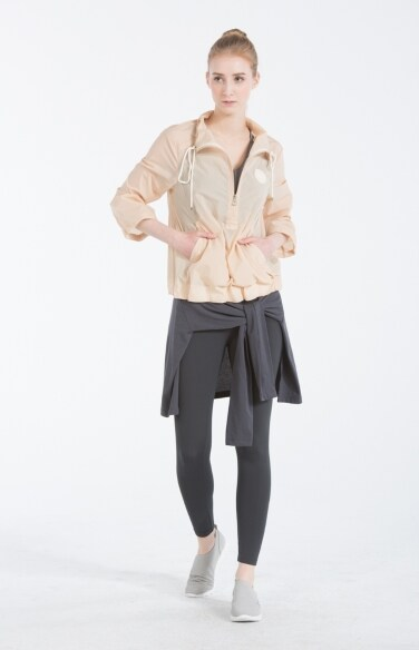 10A Flared sporty short jacket