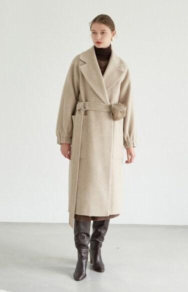mini bag belt long coat