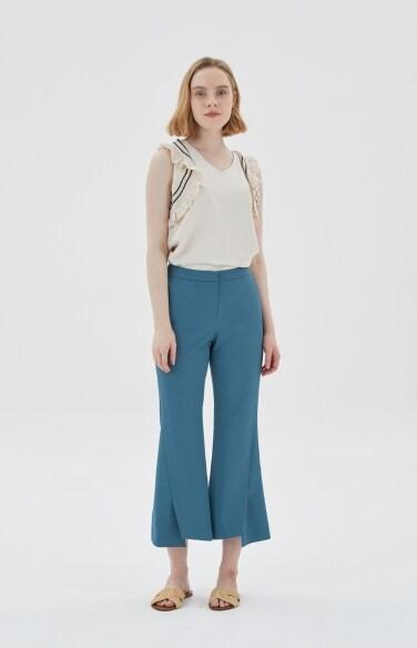 front split pants