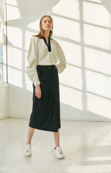 sling waist wrap pants