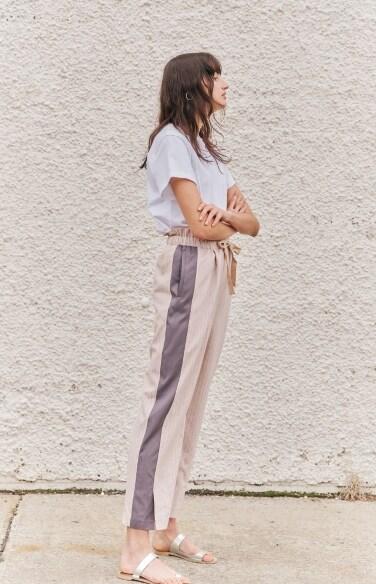 pin stripe pants