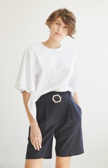 summer wool shorts