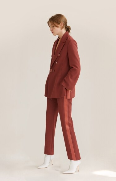 classic color trouser