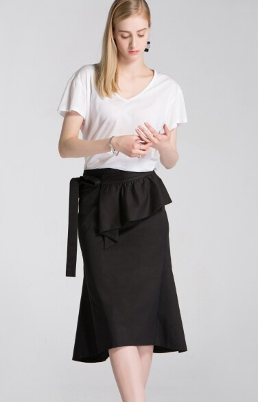 transformer peplum skirt