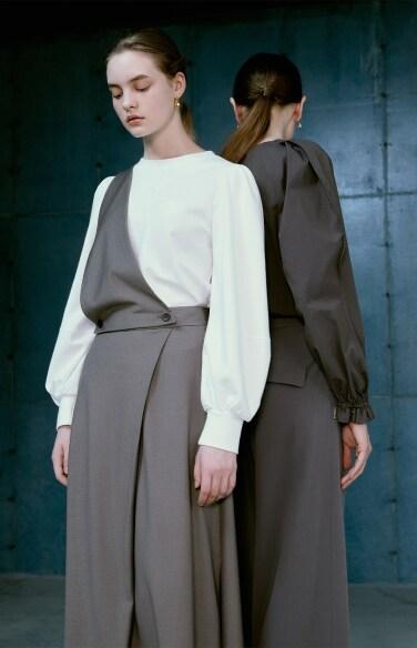 triangle suspender skirt(서은수    착용)