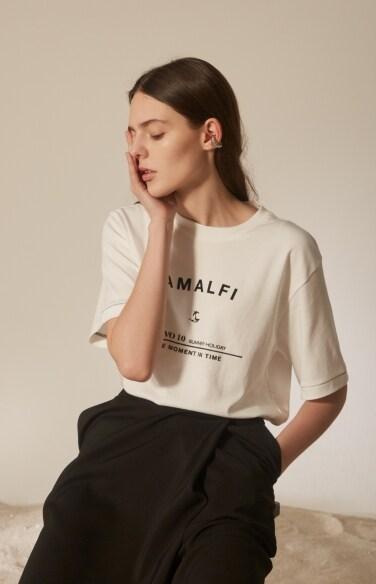 Amalfi graphic tie t-shirt