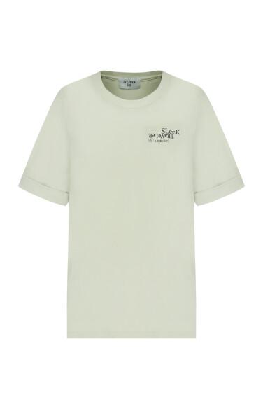lettering print t-shirt