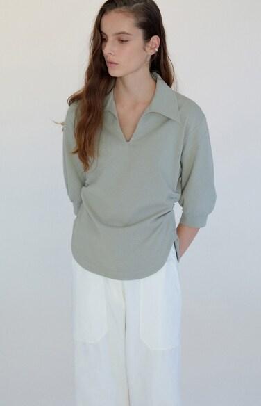 canyon collar t-shirt